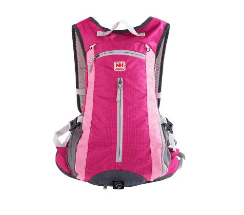 Naturehike Outdoor Backpack Climbing Backpack Sport Bag Camping Backpack (Rose red)