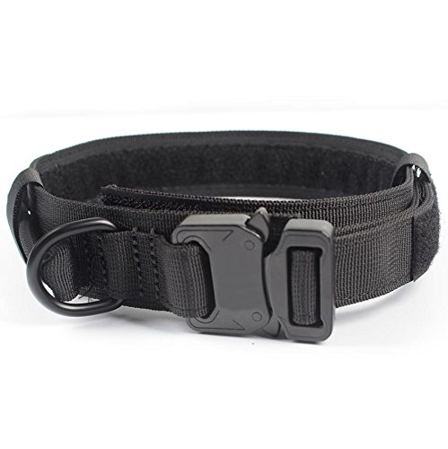 yisibo-adjustable-tactical-dog-collar-with-handle-for-pet-training-15-m-black