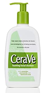 CeraVe Foaming Facial Cleanser, 12 Ounce