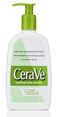 CeraVe CeraVe Foaming Facial Cleanser, 12 Ounce
