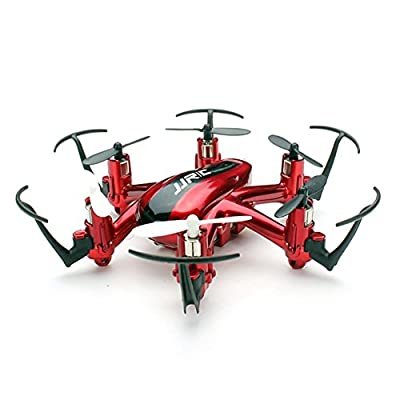 JJRC Nano Hexacopter 2.4G 4CH 6Axis Headless Mode RTF RC Quadcopters (H20 Red)