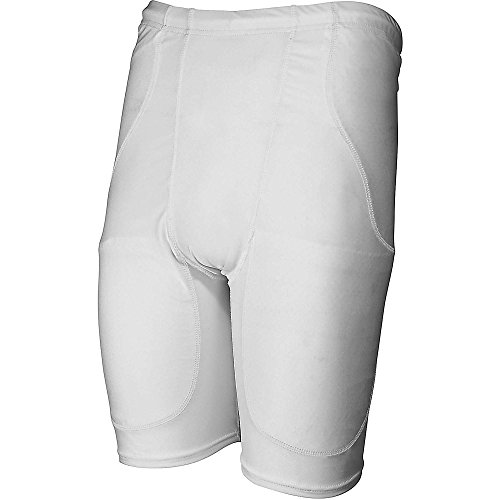 Rawlings Adult Football Girdle with Pads (White) (X-Large) - 1