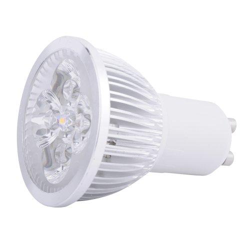 Gu10 4W Led Downlight Bulb Lamp Warm White.
