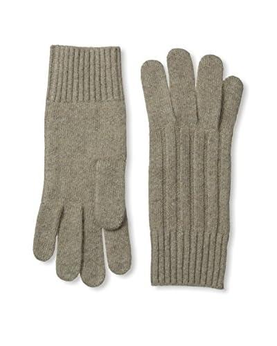 Portolano Men's Cashmere Blend Rib Trim Gloves