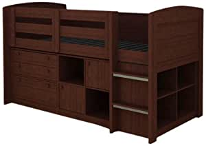 Rack Furniture Brookfield Loft Bed Cherry Kitchen Home