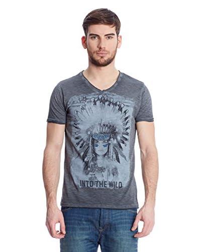 American People T-Shirt Manica Corta Squaw [Antracite]