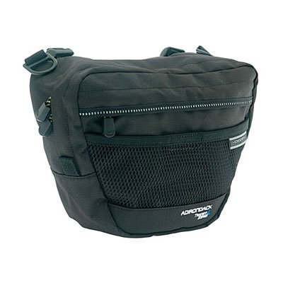 Axiom Adirondack Handlebar Bag 305 Cubic Inches Black/Silver