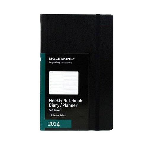 Moleskine Black Weekly 2013 Planner