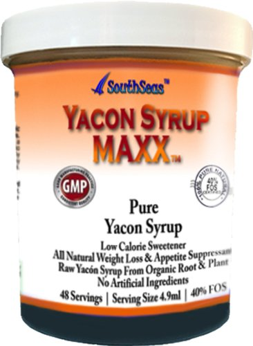 Yacon Syrup Maxx Pure Yacon Syrup All Natural Sugar Substitute Promotes Weight Loss 100% Organic Raw Yacon Syrup 40% Fos. Reduces Bad Cholesterol And Controls Constipation. Decreases Body Mass Index Combats Excess Fat