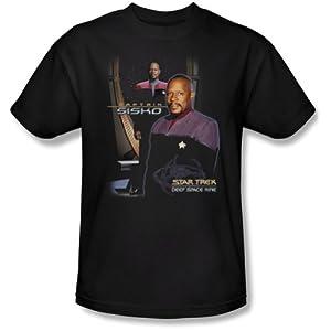 Star Trek T-Shirt CAPTAIN SISKO Deep Space Nine