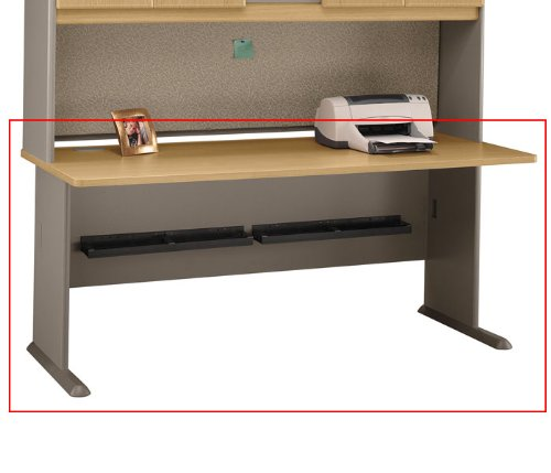 Bush Business Furniture WC64372 Light Oak - Sage Series A 72 Inch Desk [Kitchen