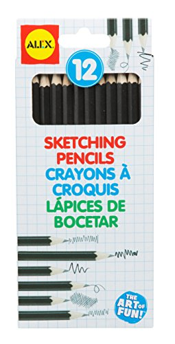 ALEX Toys Artist Studio 12 Sketching Pencils