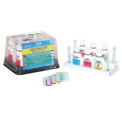 Aquarium Pharmaceuticals 34 Fresh Water Aquarium Master Test Kit for Testing High Range pH, Ammonia, Nitrite, and Nitrate Levels