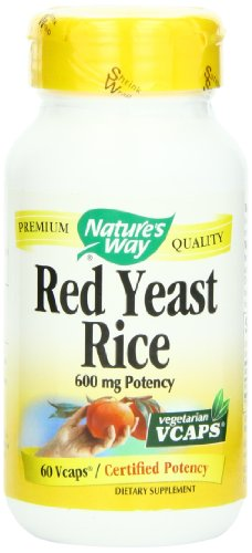 Nature'S Way Red Yeast Rice 600Mg, 60 Vcaps