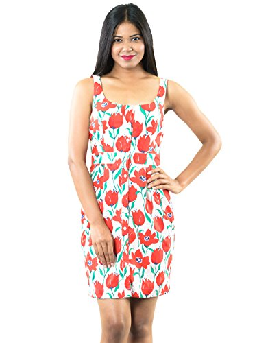 Roving-Mode-Womens-Sleeveless-Floral-Tulip-Print-Button-Down-Bodycon-Knee-Length-Cocktail-Dress-Red