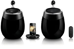 Philips DS9800W/37 Fidelio SoundSphere Docking Speaker with AirPlay (Discontinued by Manufacturer)