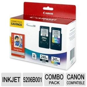Canon Office Products PG 240XL CL 241XL