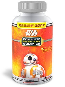 Star Wars Complete Multivitamin Sour Tropical Gummies, 120 Ct. (Pack of 2) (Starwar Ca compare prices)