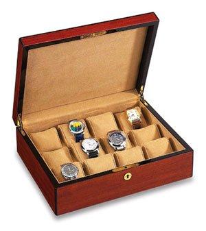 Vox Luxury Watch Holder 12 Watch Case - Rosewood X-WC-12-B