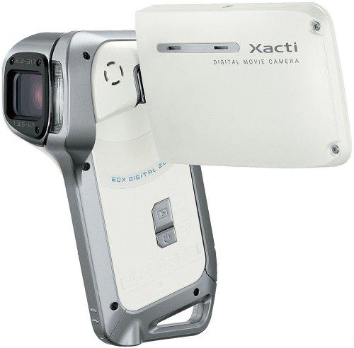 SANYO 防水デジタルムービーカメラ Xacti (ザクティ) DMX-CA8(W)