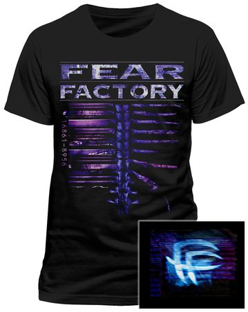 Uomo - Official - Fear Factory - T-Shirt (S)