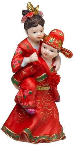 Weddingstar Cute Asian Couple in Traditional Wedding Attire