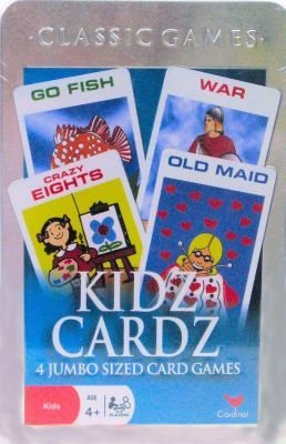 CARDINAL INDUSTRIES, Games - Age 6 - 9 - Case of 24
