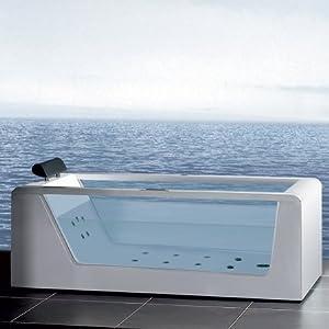Ariel Bath AM152JDTSZ-59 Platinum Whirlpool Bathtub - 59