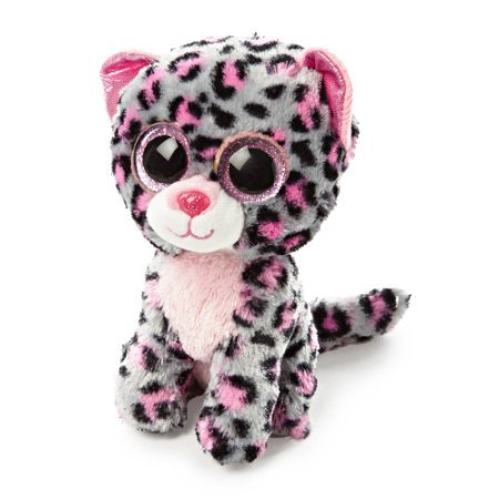 "Claire's Accessories Ty Beanie Boos Plush Tasha the Leopard - 6"" Small - 1"