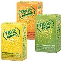 True Lemon Kit Lemon,Orange,Lime 32ct each (Juice Packets compare prices)