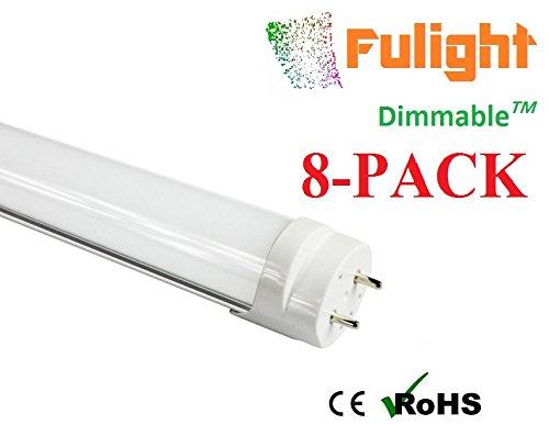 (8-PACK) Fulight Dimmable¤ T8 LED Tube Light