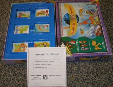 Around the World Geography Memory Game - 1