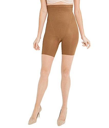 SPANX In-Power Line Sheers Firm Control High-Waist Pantyhose, D, Bisque New Spanx Power Panties