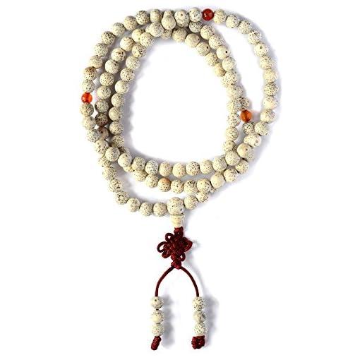 Mala-aus-Lotussamen-buddhistische-Gebetskette-mit-10-mm-Perlen-3er-Set