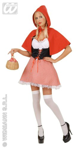 Kostüm-Set Sexy Rotkäppchen, Größe S