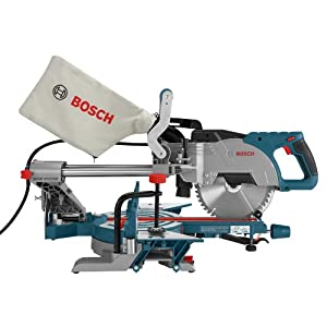 Bosch CM8S 8-1/2 Inch Single Bevel Sliding Compound Miter Saw