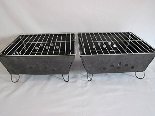 2-x-Set-BBQ-KLAPPGRILL-FALTGRILL-HOLZKOHLE-MINIGRILL-CAMPINGGRILL
