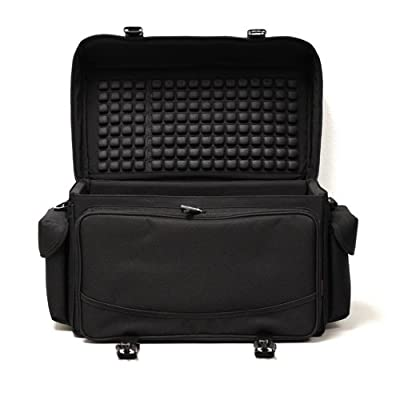 CaseCrown Deluxe AirCell Lined Carrying Case with Shoulder Strap for Panasonic PV-GS80 Camcorder