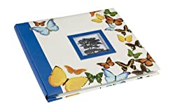 Martha Stewart Crafts 12-by-12-Inch Fashion Album, Butterflies