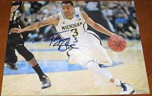 Trey Burke Signed Photograph - Utah Jazz 11x14 Authentic Coa C - Autographed College... by Sports Memorabilia