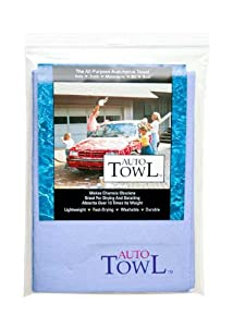Pacific Dry Goods EcoTowl AutoTowl Multi-purpose Reusable Cleaning, Drying & Polishing Car Towel