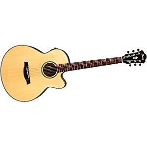 Ibanez AELBT1 NT Baritone Electro Acoustic Guitar   Natural available at Amazon for Rs.76199