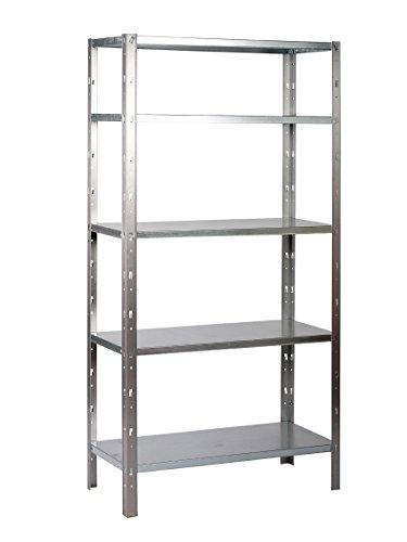clicker-100-scaffale-in-metallo-galvanizzato-fissabile-tramite-clip-5-ripiani-dimensioni-200-x-100-x