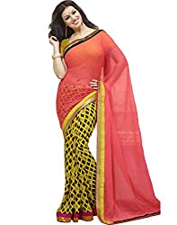 Stylish Colleation Women's Georgette Printed Saree