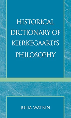Historical Dictionary of Kierkegaard's Philosophy (Historical Dictionaries of Religions, Philosophies, and Movements Ser