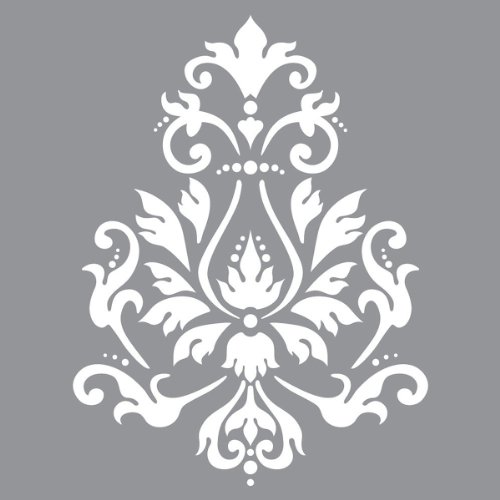 Deco Art Americana Decor Stencil, Brocade Motif