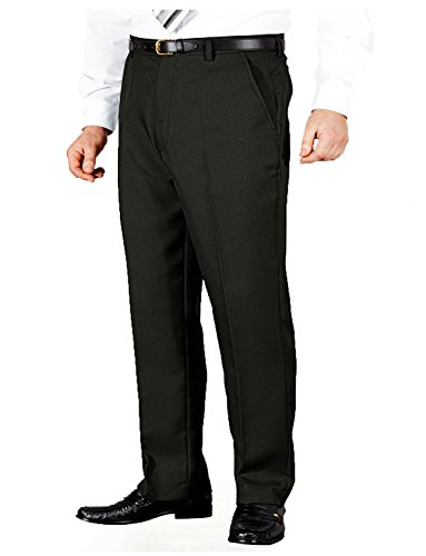 mens-quality-formal-smart-casual-work-trousers-home-office-black-36w-x-33l