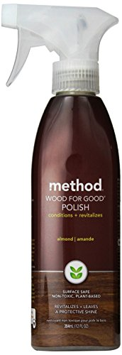 Method Home Care Products 12 Oz Almond Wood For Good® Wood Surface Spray Polisher (Method Wood Cleaner compare prices)