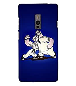 Go Yankee popaye and bluto back Cover For One Plus Two
