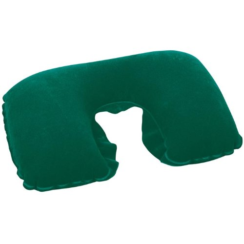 Inflatable Travel Shaped Neck Pillow Soft Flocked Surface Travel Pillow